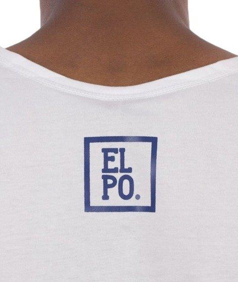 El Polako-Plany Tank-Top Biały