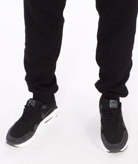 El Polako-Premium Cut Logo Fit Spodnie Dresowe Czarne