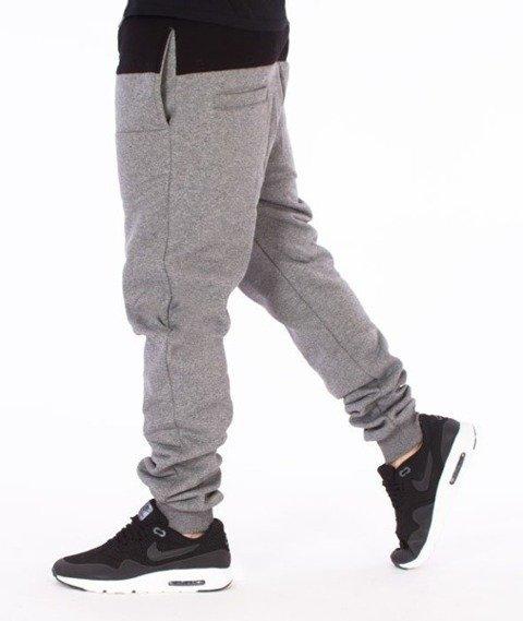 El Polako-Premium Cut Logo Fit Spodnie Dresowe Grafitowe