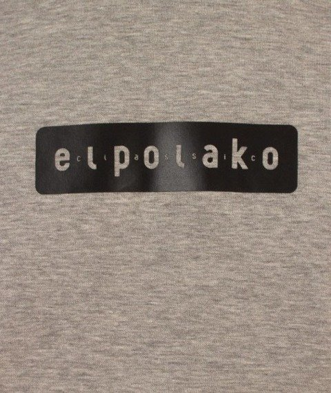 El Polako-Pro Crewneck Bluza Szara