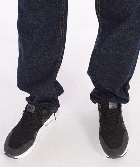 El Polako-RZPRDL Slim Spodnie Jeans Dark Blue