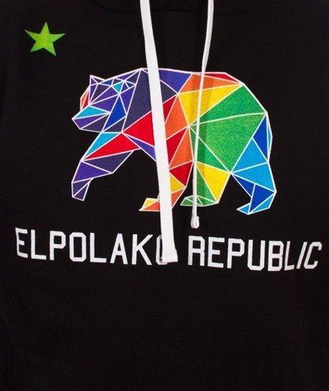 El Polako-Republic Bluza Kaptur Czarny