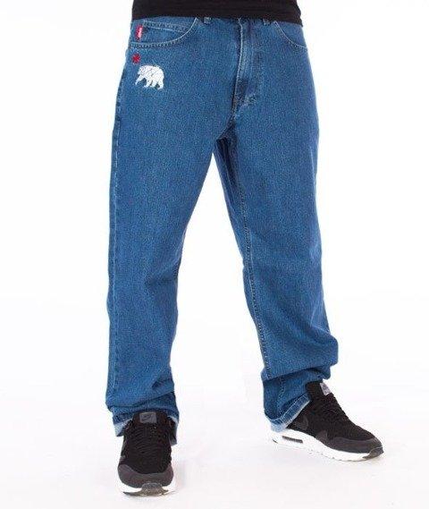 El Polako-Republic Regular Jeans Spodnie Light Blue