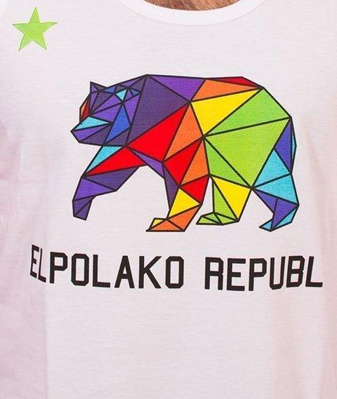 El Polako-Republic Tank-Top Biały