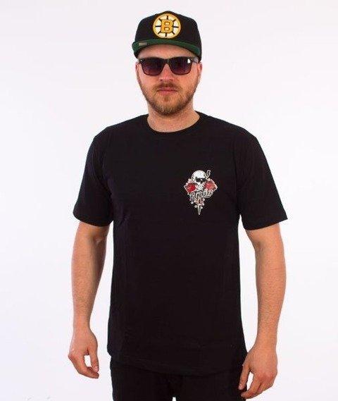 El Polako-Róża T-Shirt Czarny