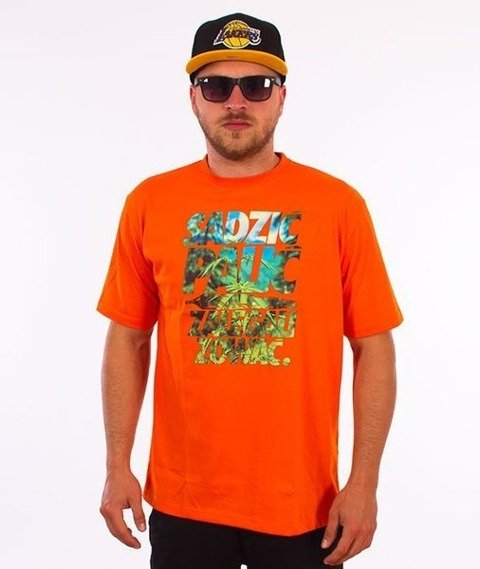 El Polako-Sadzić T-Shirt Pomarańczowy
