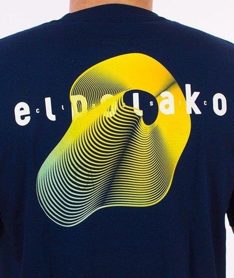 El Polako-Sonar T-Shirt Granatowy