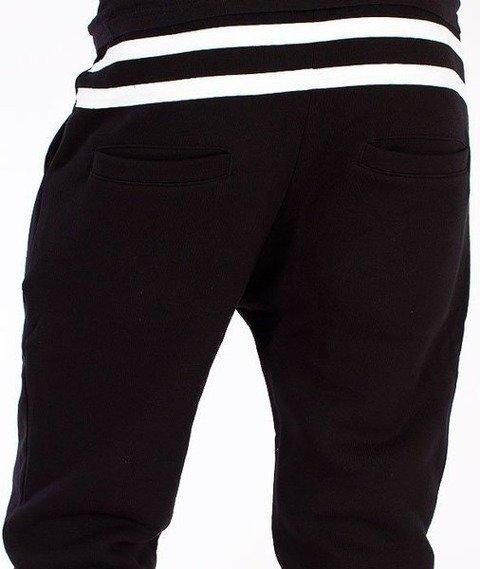 El Polako-Stripes Fit Spodnie Dresowe Czarne