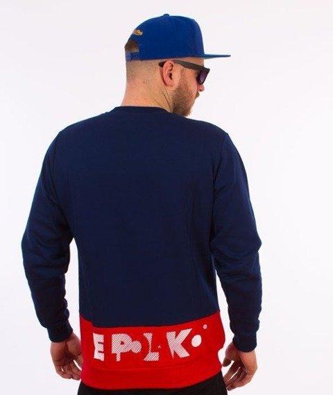El Polako-Style Bluza Granatowa