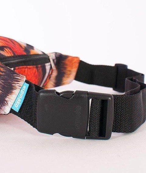 El Polako-Wild Eyes Tiger Street  Bag Multikolor
