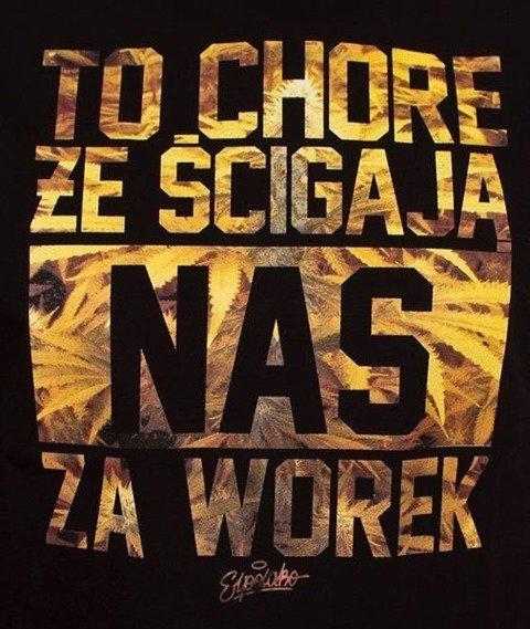 El Polako-Worek T-Shirt Czarny