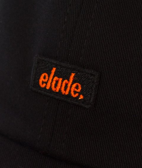 Elade-6 Pannel Snapback Czarny