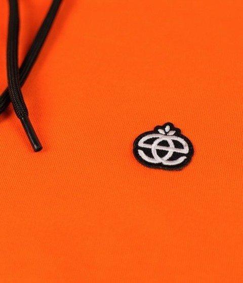 Elade Hoodie Icon Mini Logo Bluza Kaptur Pomarańczowa