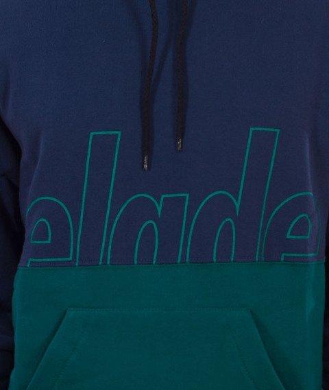 Elade-Hoody Two Tone Navy/Zielony