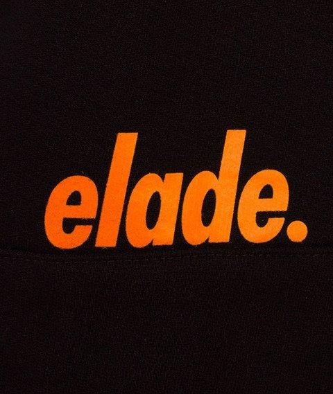 Elade-Mini Logo Bluza Kaptur Czarna/Pomarańczowa