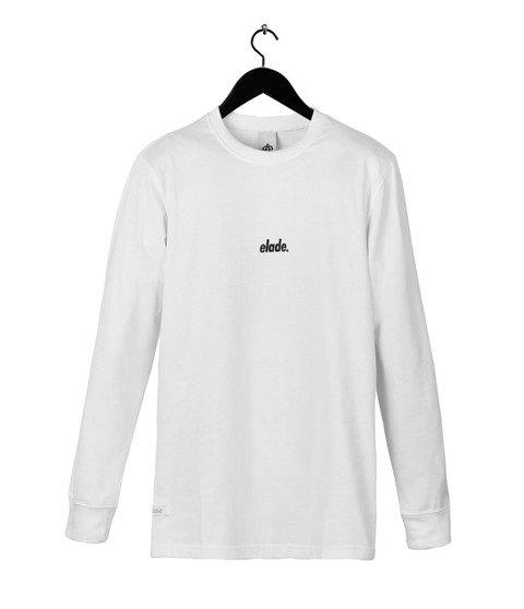 Elade-Mini Logo Longsleeve White