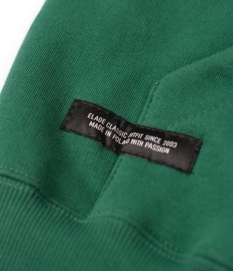 Elade Zip Hoodie Classic Bluza Rozpinana Zielona