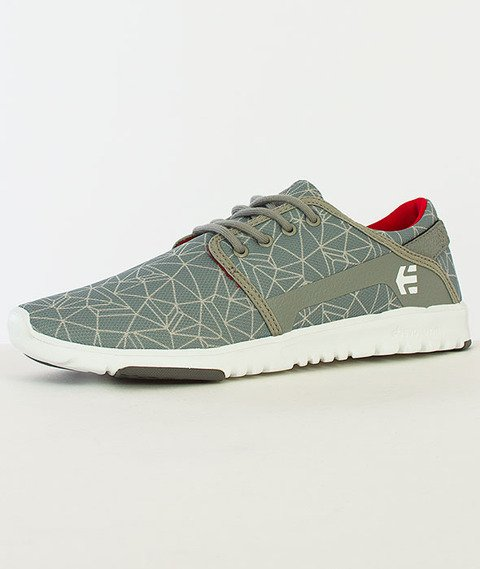 Etnies-Scout Grey/Light Grey/Red
