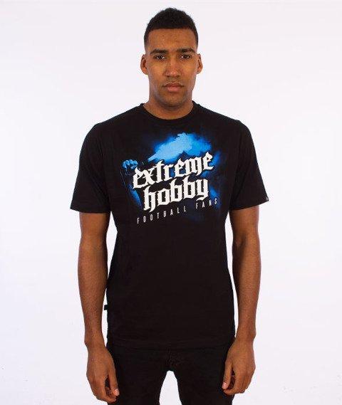 Extreme Hobby-Football Fans T-shirt Czarny