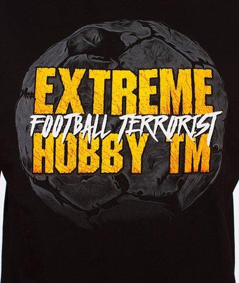 Extreme Hobby-Football Terrorist T-shirt Czarny