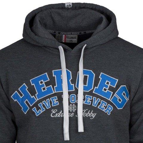 Extreme Hobby-Heroes Hoodie Bluza Kaptur Niebieska