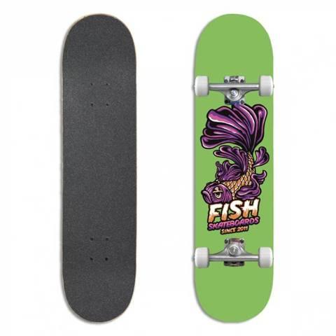 Fish Skateboards Deskorolka Kompletna BEGINNER EMMA 8.0