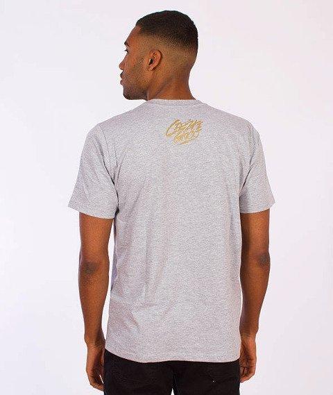 Gang Albanii-Big Kokz T-Shirt Szary