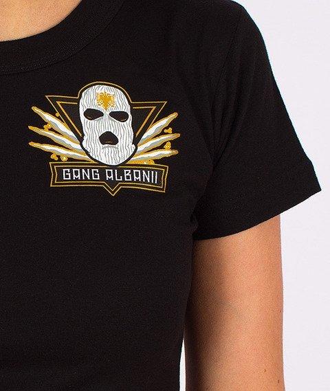 Gang Albanii-Lil Kogz T-shirt Damski Czarny