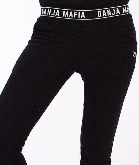 Ganja Mafia-Flexi Keep Dreaming Spodnie Dresowe Dasmkie Czarne
