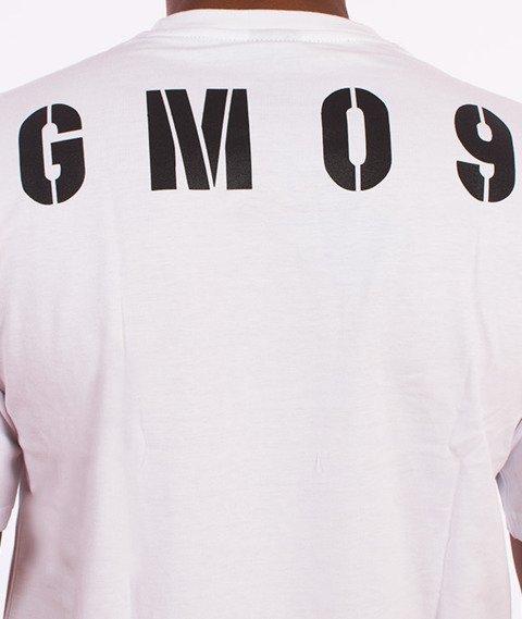 Ganja Mafia-Heavy T-Shirt Biały/Czarny