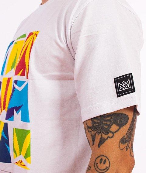 Ganja Mafia-Summer T-Shirt Biały