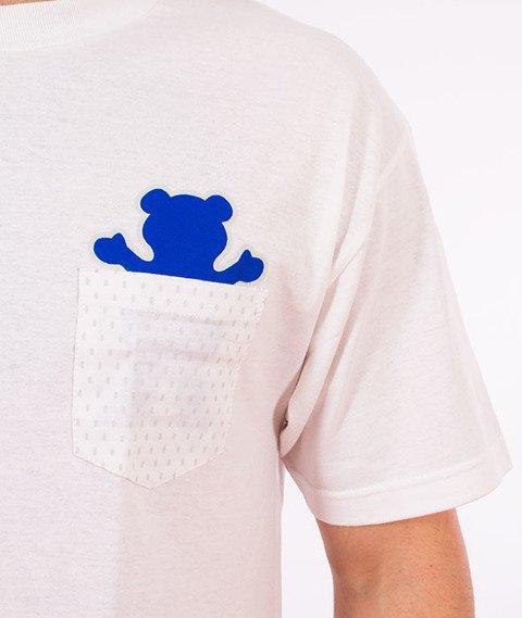 Grizzly-Draft Pick Pocket T-Shirt White