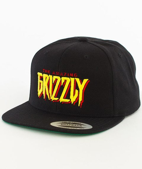 Grizzly-Spiderman Snapback Black