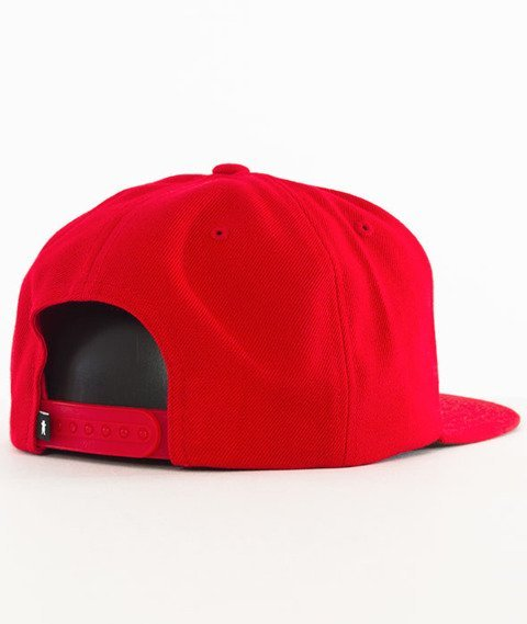 Grizzly-Spiderman Snapback Red