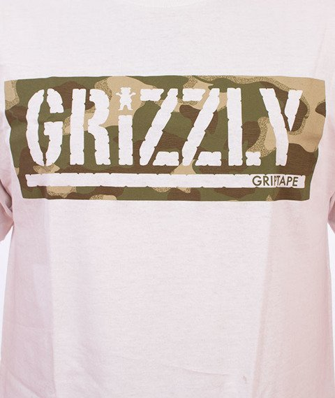 Grizzly-Sycamore Box Logo T-Shirt White