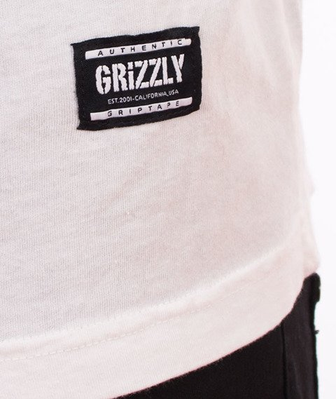 Grizzly-Venom Cover T-Shirt White