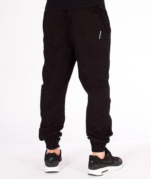 Grube Lolo-Spodnie Jeansowe Czarne Sprane