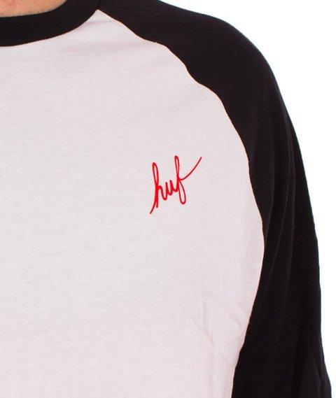 HUF-Dugout Raglan Biały/Czarny