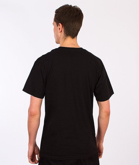 HUF-Original Logo T-Shirt Black/Red