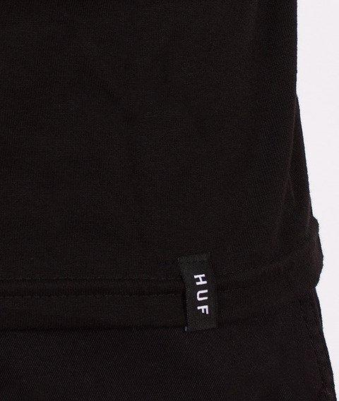 HUF-Original Logo T-Shirt Black/Red