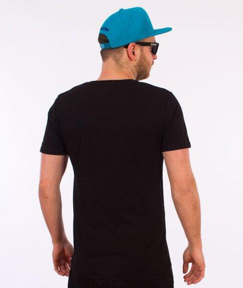 Hype-Camo Script T-Shirt Czarny/Camo