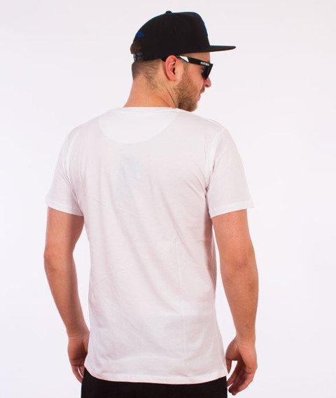 Hype-Giltch Script T-Shirt Biały