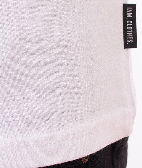 IAM. CLOTHES-Cali T-shirt Biały
