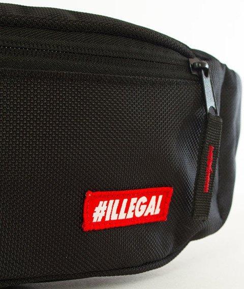 Illegal-Illegal Small Street Bag Nerka Czarna/Czerwona