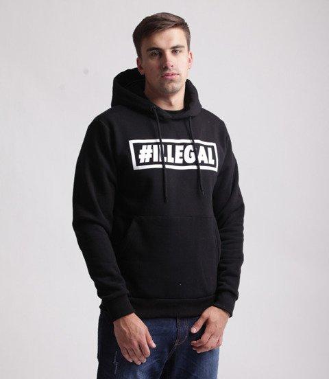 Illegal-Klasyk Bluza Z Kapturem Czarna