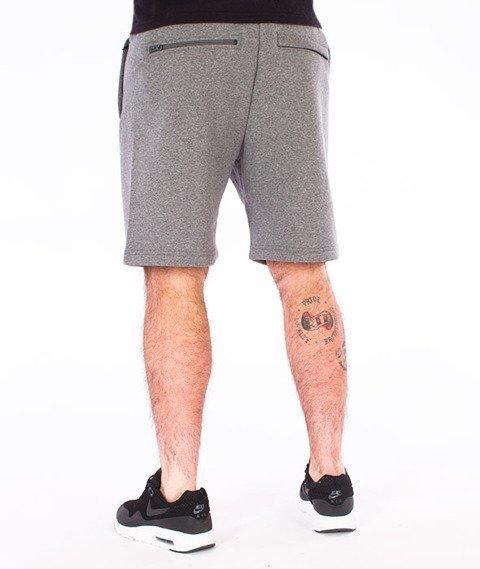 Illegal-Small Spodnie Krótkie Dresowe Grafitowe