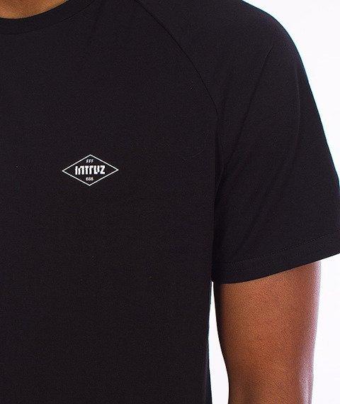 Intruz-Press Enter T-Shirt Czarny