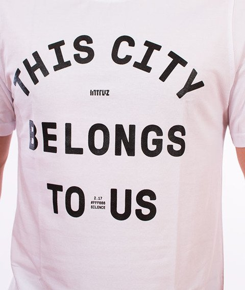 Intruz-This City T-Shirt Biały