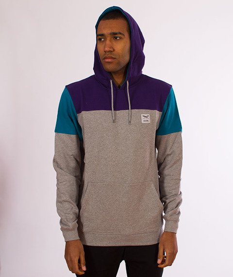 Iriedaily-Blow Up Hoody Bluza Kaptur Dark Purple