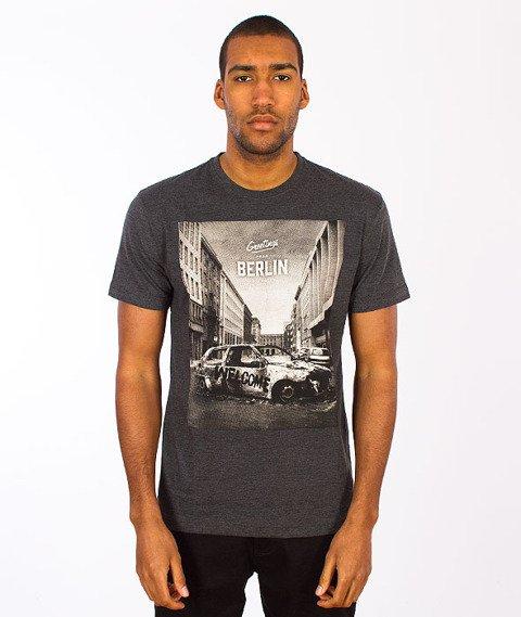 Iriedaily-Greetings T-shirt Anthracite